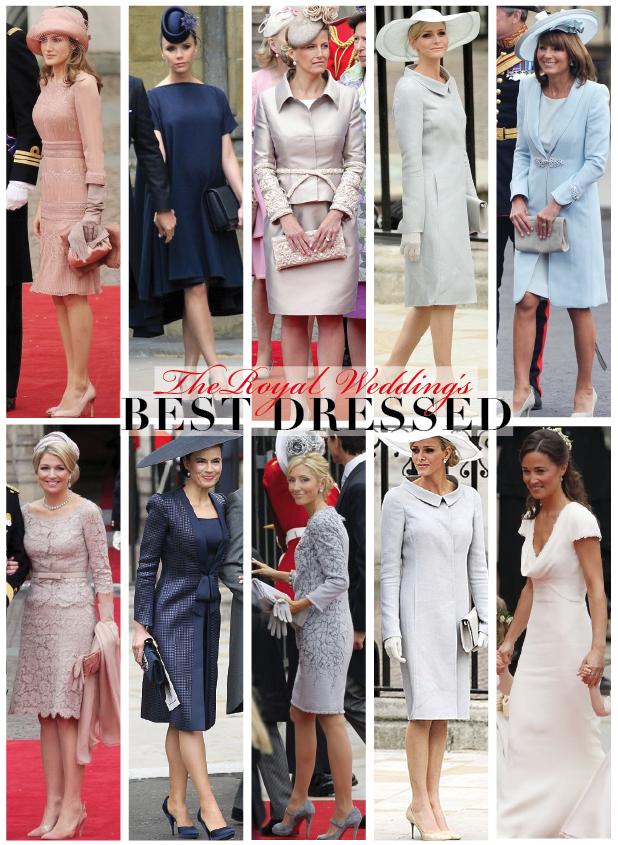 charlene wittstock royal wedding. THE ROYAL WEDDING#39;S BEST